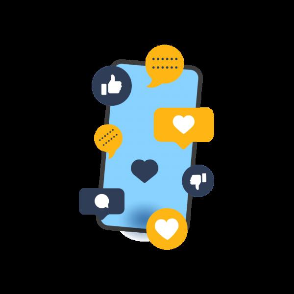marketor promovare social media management